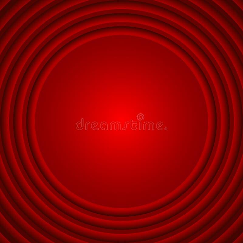 Rode textuurachtergrond, abstracte vector royalty-vrije illustratie