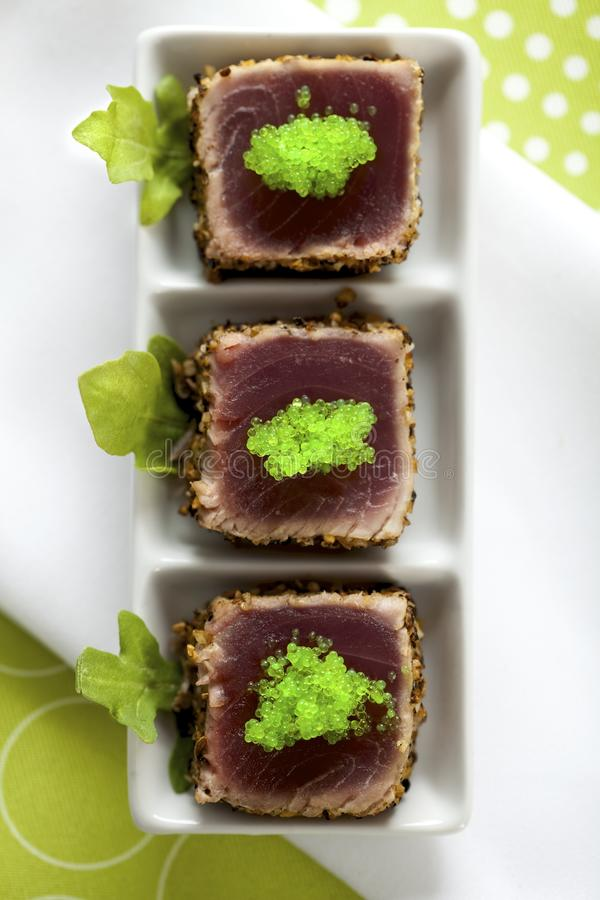 Rode tonijn stock foto