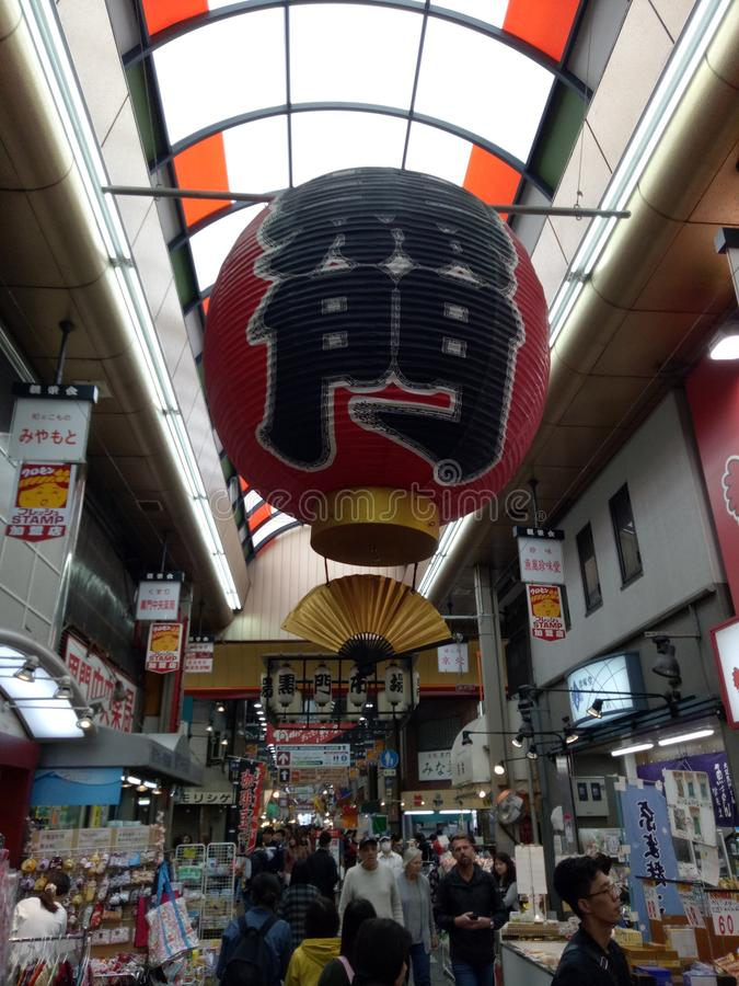 Rode traditionele baloon royalty-vrije stock fotografie