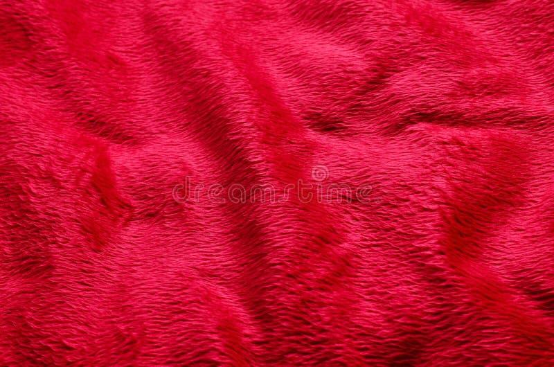 Rode van het stoffentapijt Chinese nieuwe jaar als achtergrond en valentijnskaartdag royalty-vrije stock afbeelding