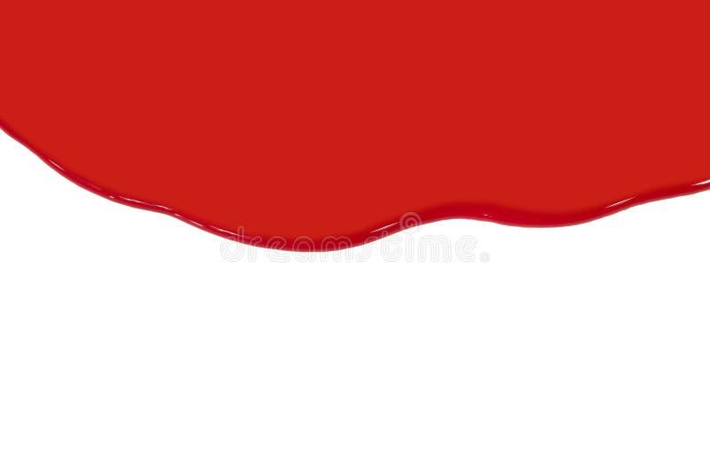 Rode verf royalty-vrije stock foto