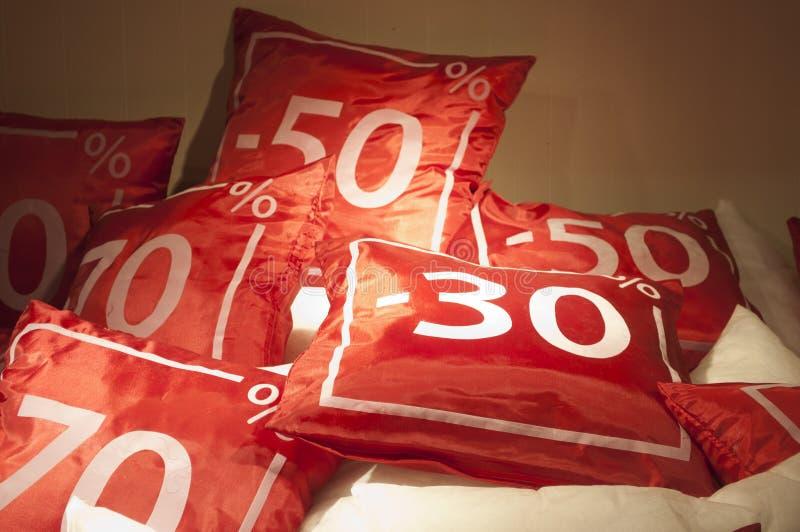 Rode verkoop royalty-vrije stock foto's