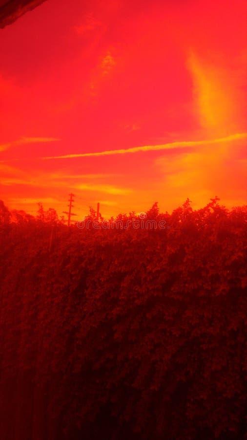 Rode visie stock afbeelding