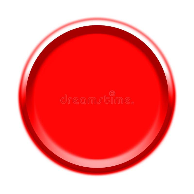 Rode Visuele Knoop royalty-vrije illustratie