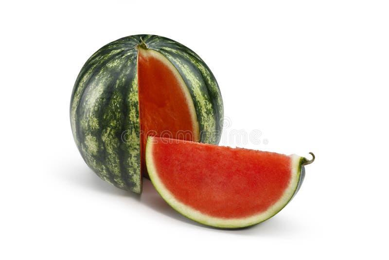 Rode watermeloen 2 stock foto's