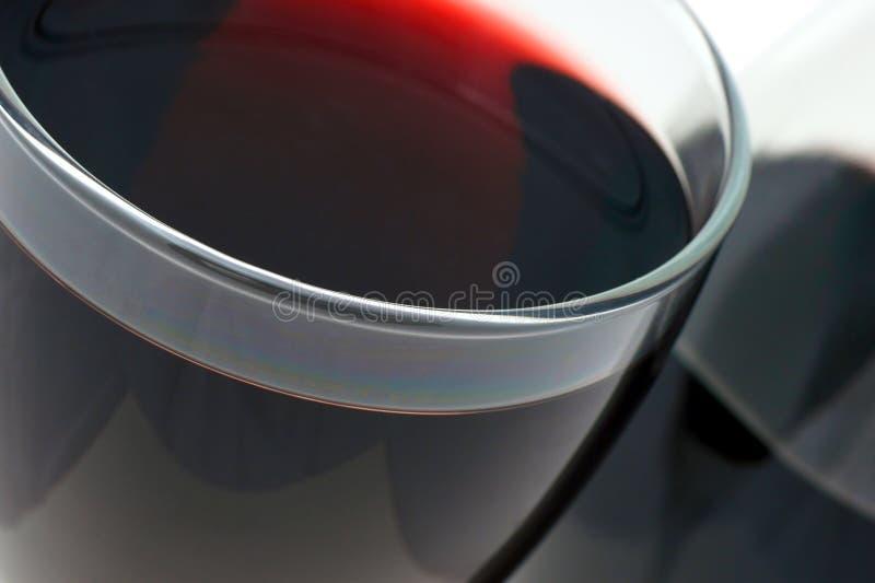 Rode wijn. stock afbeelding