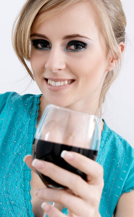 Rode wijn stock foto