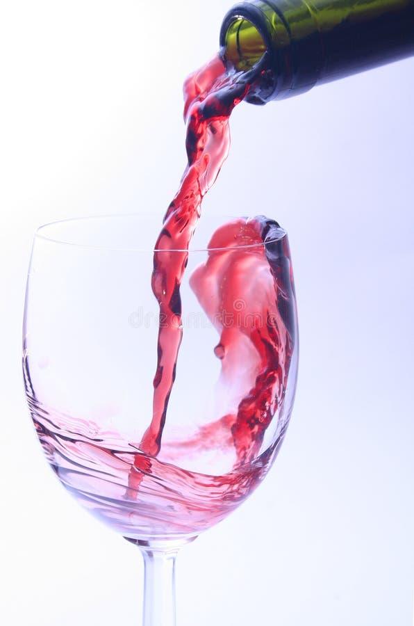 Download Rode wijn stock afbeelding. Afbeelding bestaande uit voedsel - 289693