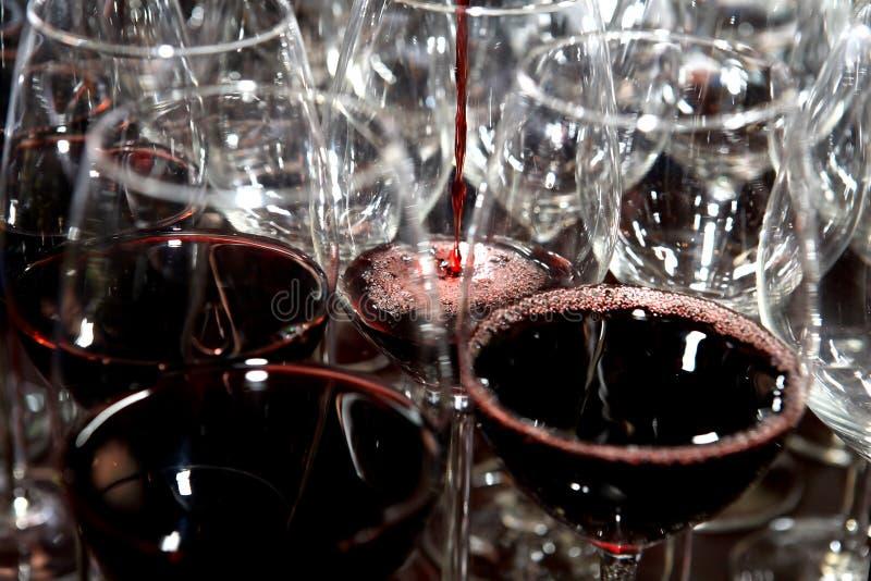Rode Wijn stock fotografie