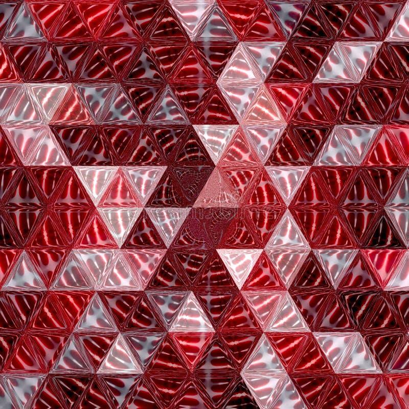 Rode wijn abstracte veelhoek als achtergrond Geometrische achtergrond royalty-vrije stock foto's