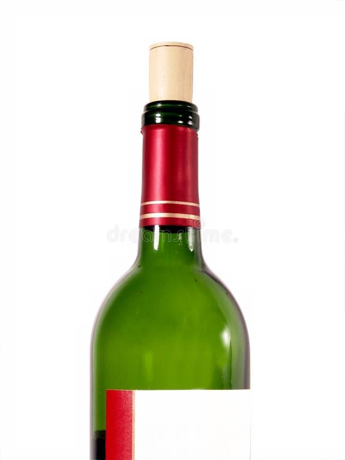 Rode Wijn met Cork royalty-vrije stock foto's