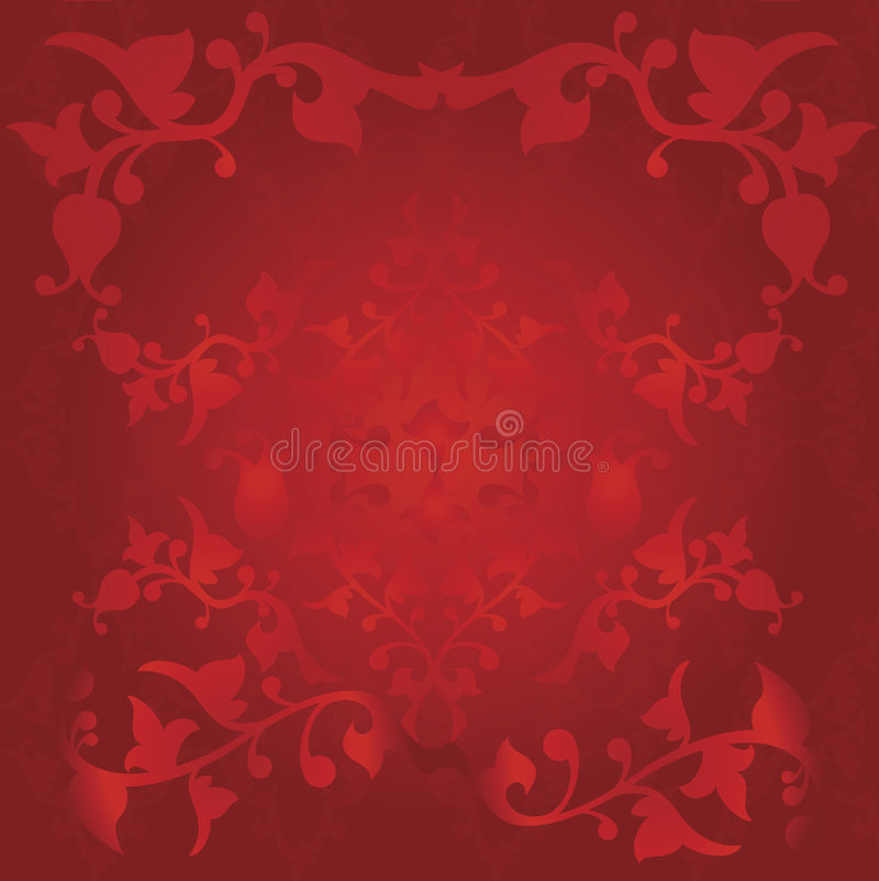 Rode wijnoogst vector illustratie