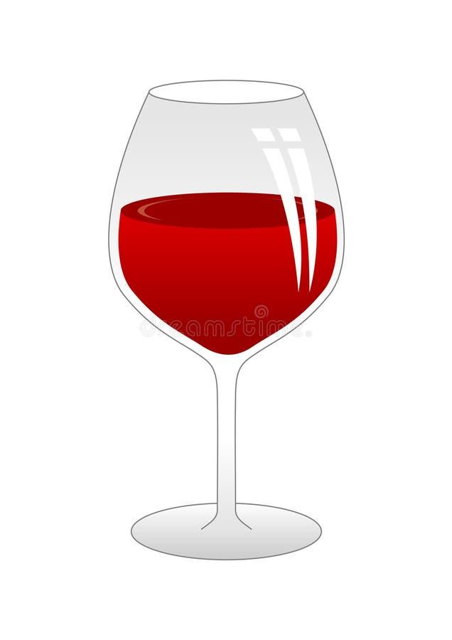Rode Wijnstok stock illustratie