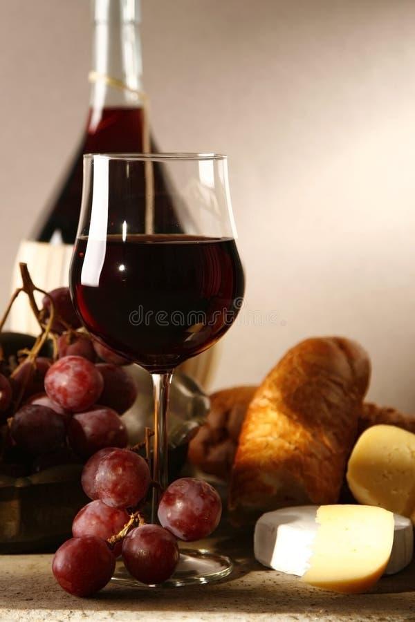 Rode wijnstok royalty-vrije stock fotografie