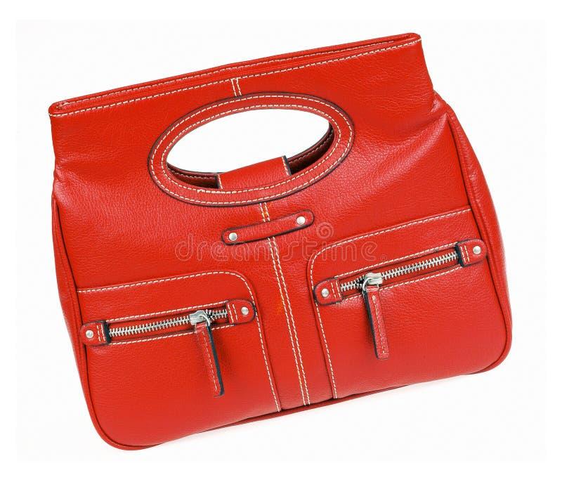 Rode zak stock foto