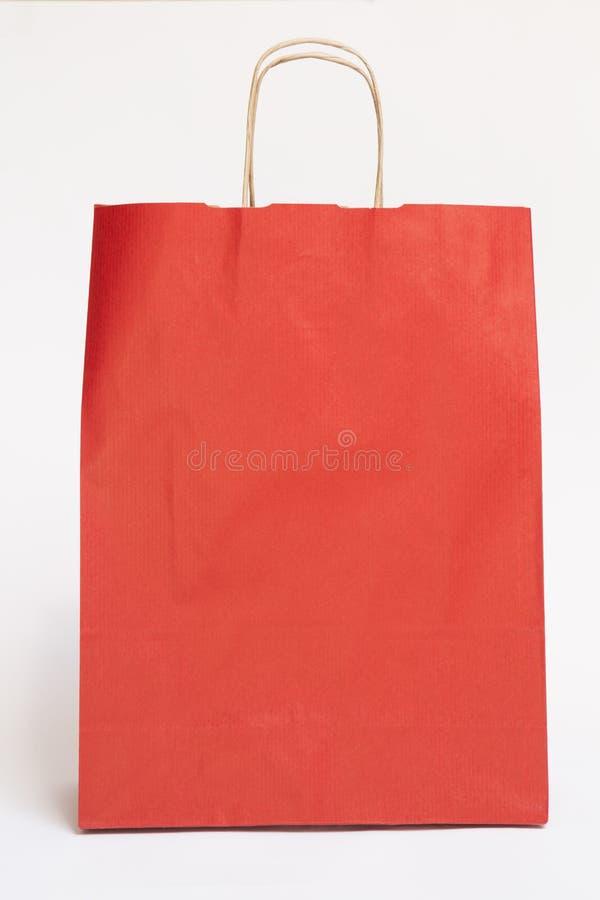 Rode zak stock foto's