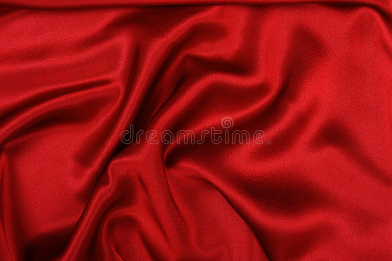 Rode zijde, royalty-vrije stock foto