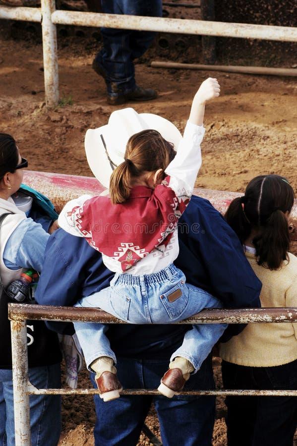 rodeo arkivbild