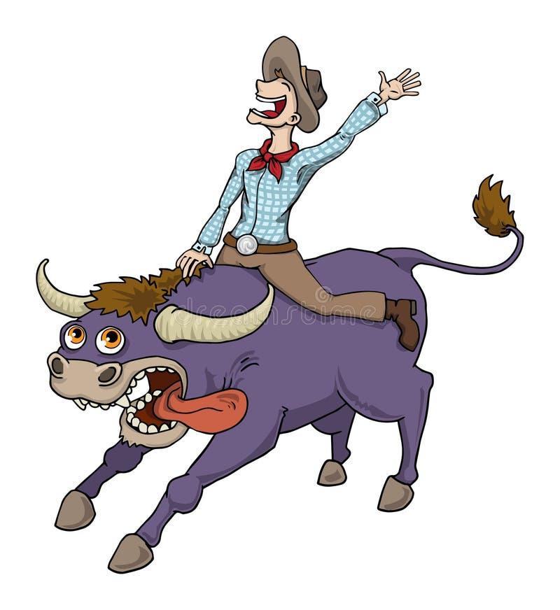 rodeo ilustração stock