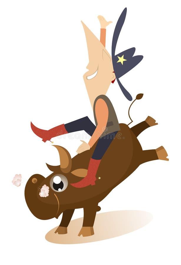 rodeo royalty illustrazione gratis