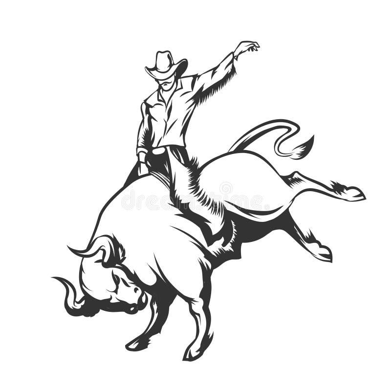 rodeo vector illustratie