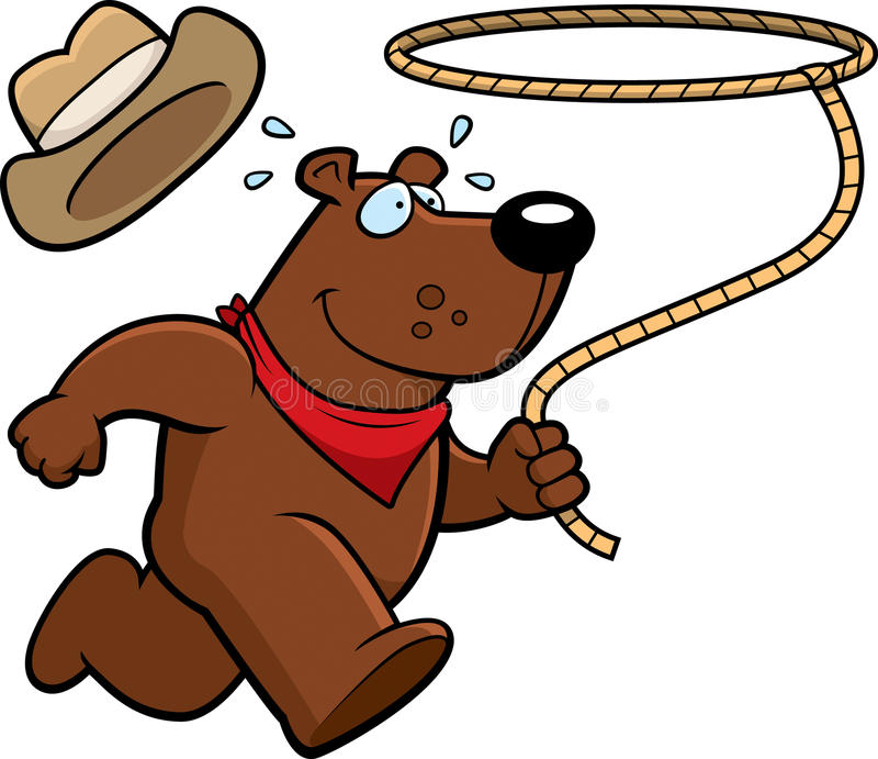 Download Rodeo Bear stock vector. Image of rancher, animal, illustration - 15162979