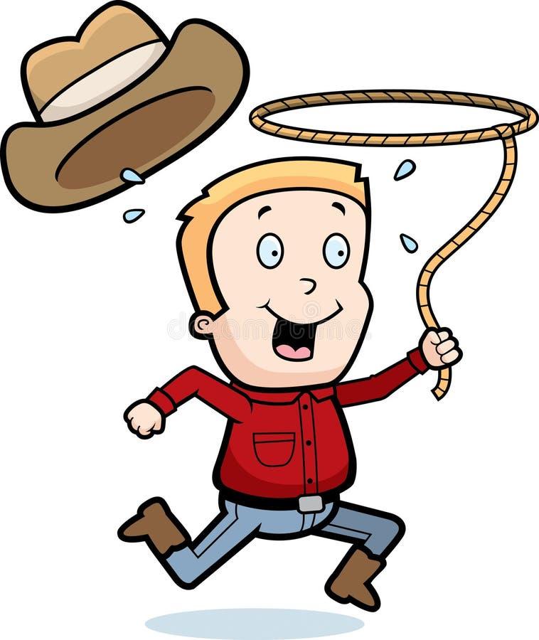 Rodeo Boy vector illustration