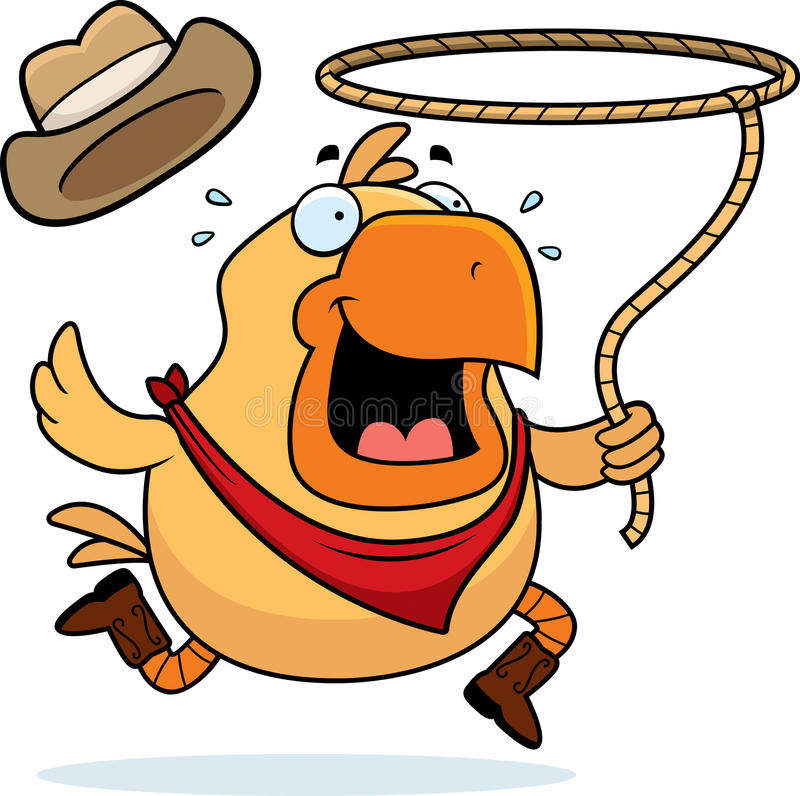 Download Rodeo Chicken Royalty Free Stock Images - Image: 12562659