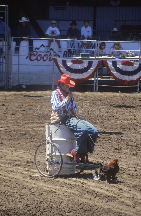 Download Rodeo Clown editorial photo. Image of fairgrounds, united - 26904251