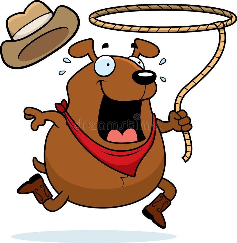 Rodeo Dog Royalty Free Stock Image