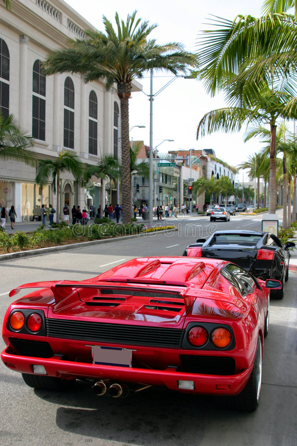Download Rodeo Drive, Beverly Hills, Ca Editorial Stock Image - Image: 2164054