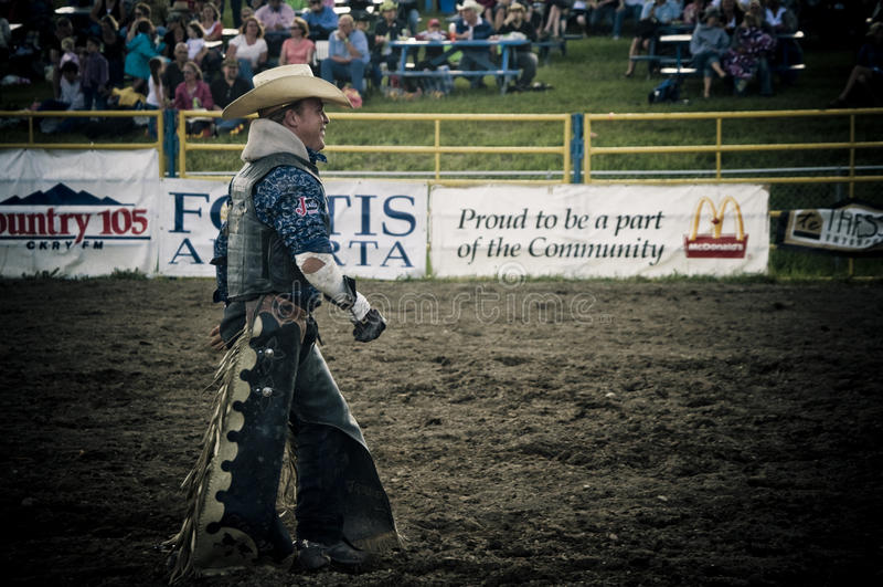 Rodeo en cowboys stock foto's