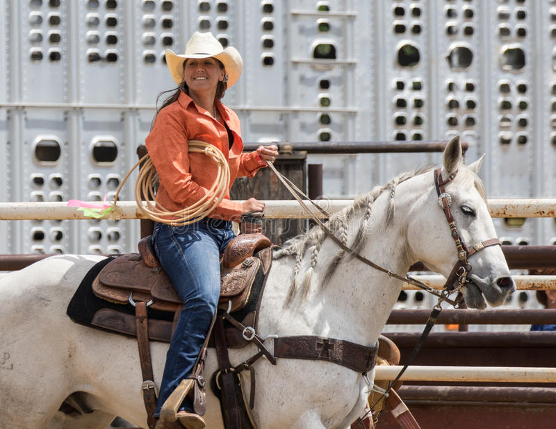 Rodeo Girl royalty free stock photography