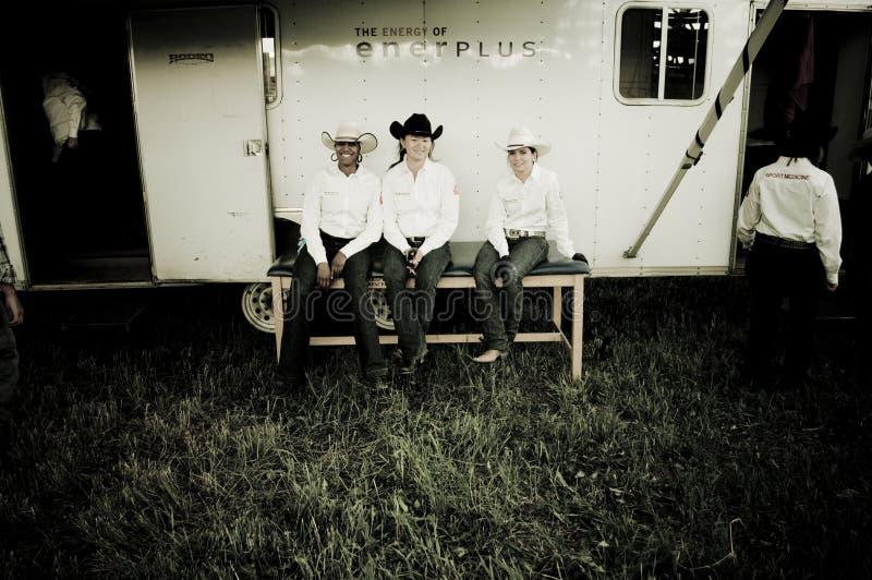 Rodeo i kowboje fotografia royalty free