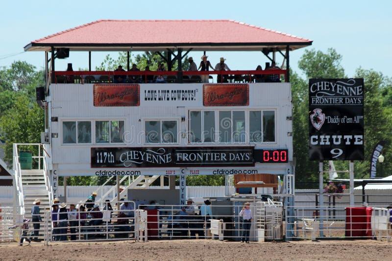 Rodeo korytko zdjęcia royalty free