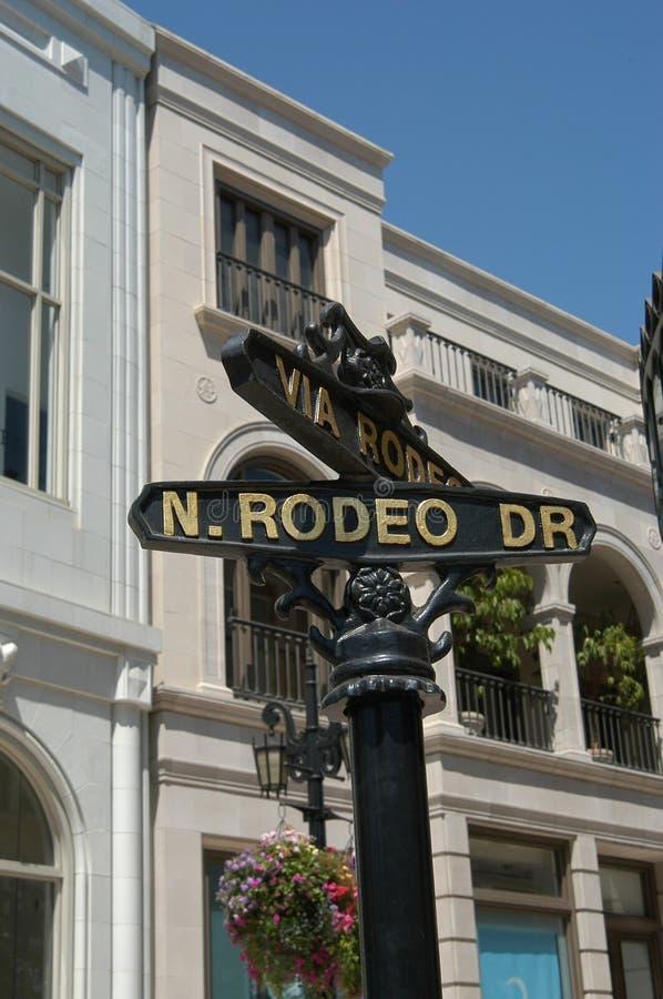 Rodeo-Laufwerk lizenzfreies stockbild