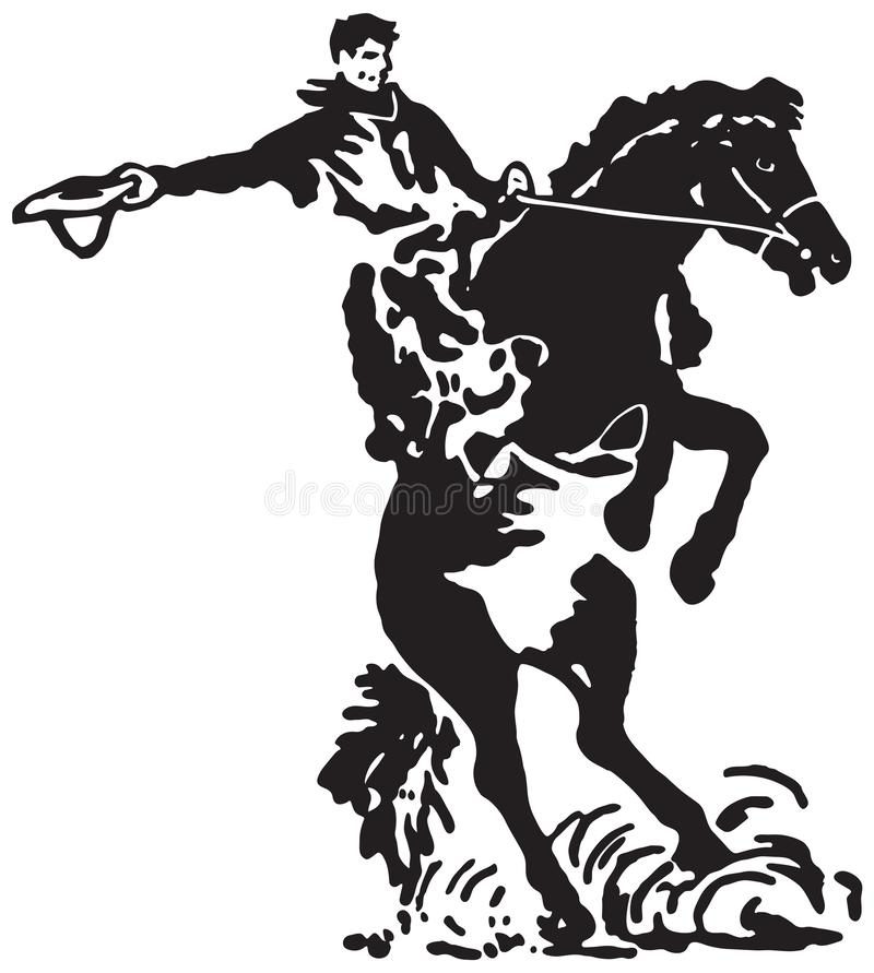 Free Rodeo Rider 3 Stock Photography - 142106482