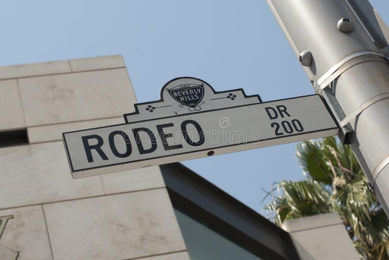 RodeoDr Beverly Hills arkivfoton