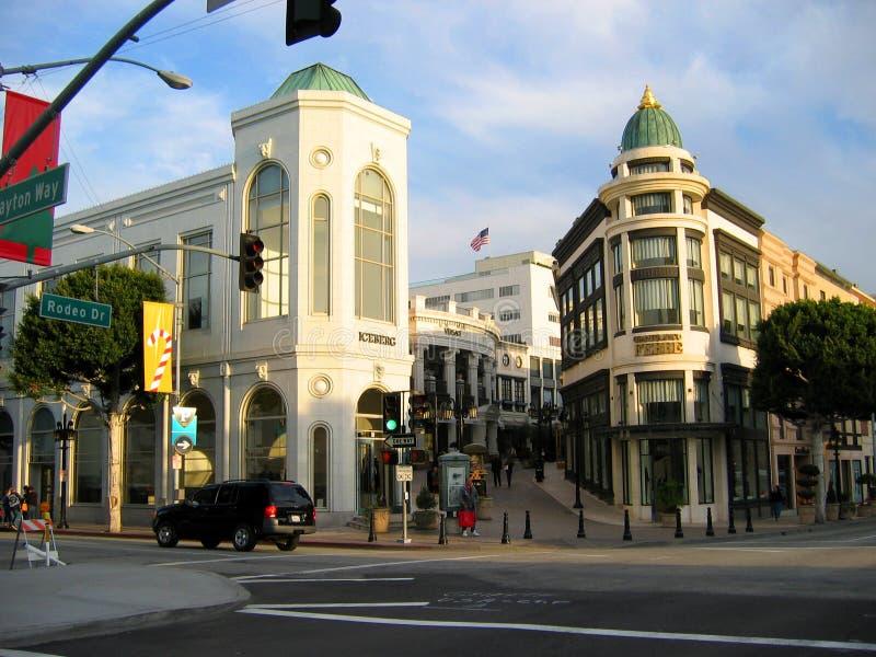 Rodeodrev, Beverly Hills, Kalifornien USA royaltyfri foto
