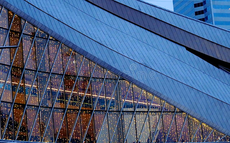 Rodger-` s Platz-Arena in Edmonton Alberta lizenzfreies stockfoto