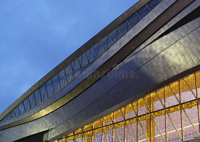 Rodger-` s Platz-Arena in Edmonton Alberta lizenzfreie stockfotos