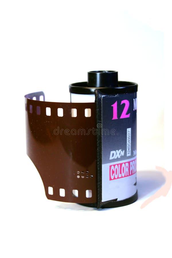 Rodillo de la película de 35m m imagen de archivo libre de regalías