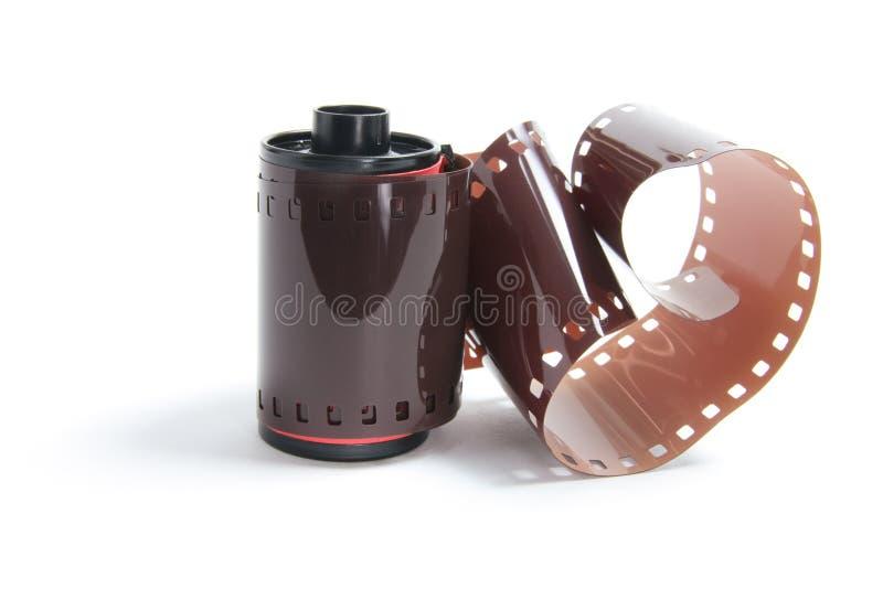 Rodillo de la película de la cámara foto de archivo