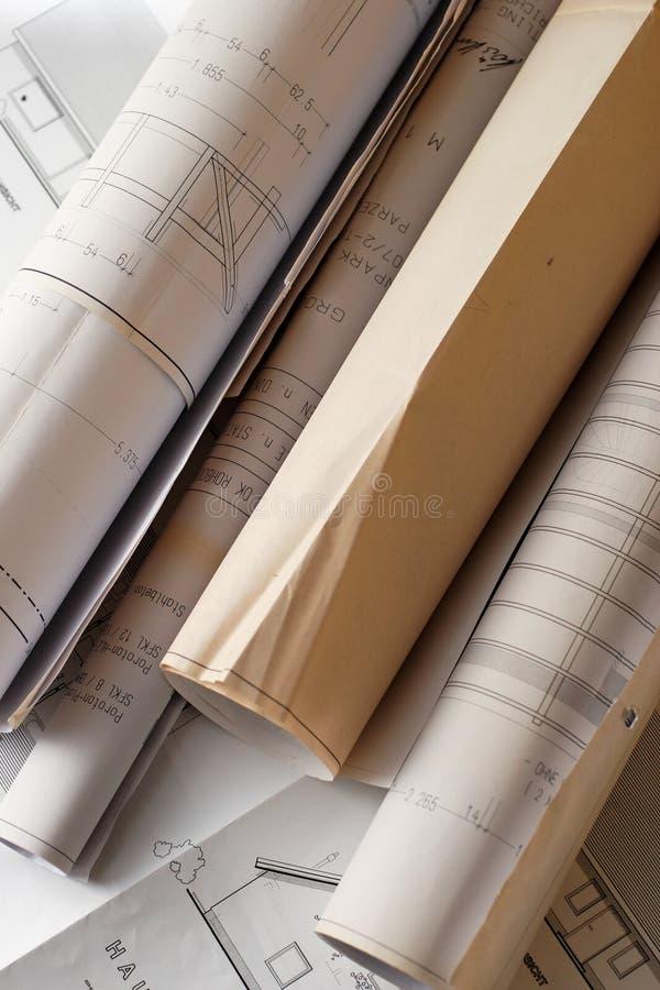 Rodillo de planes imagen de archivo libre de regalías