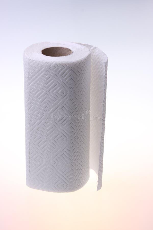 Rodillo del Libro Blanco suave. foto de archivo