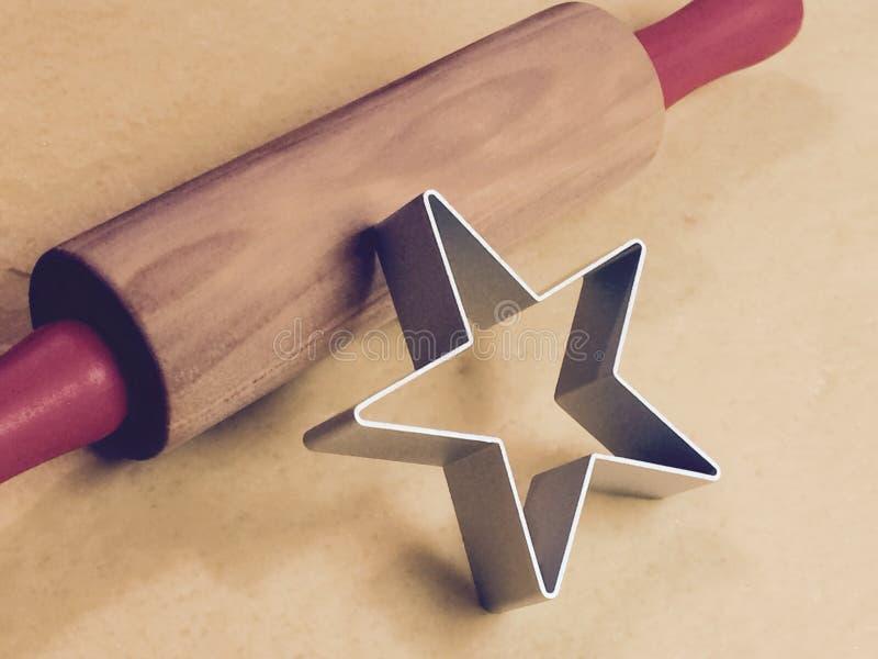 Rodillo y estrella imagenes de archivo