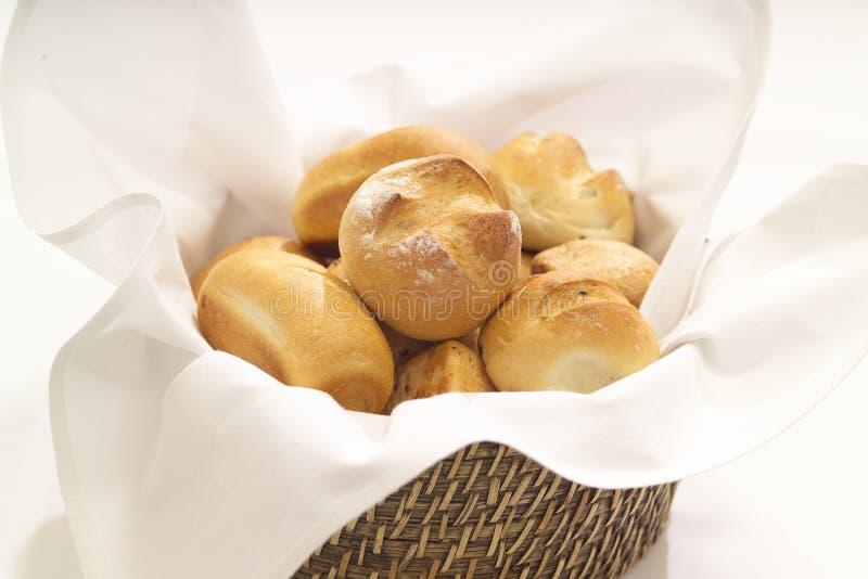 Rodillos de pan imagenes de archivo