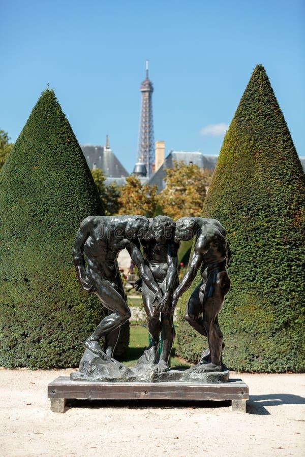 Rodin Museum in Parijs royalty-vrije stock afbeelding