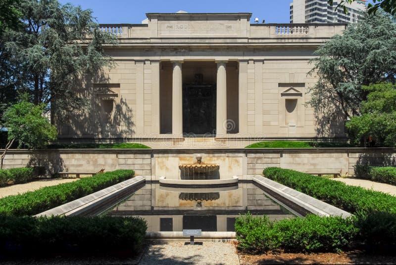 Rodin Museum - Philadelphie, Pennsylvanie images stock