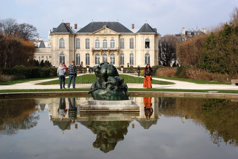 rodin paris музея Франции стоковое изображение